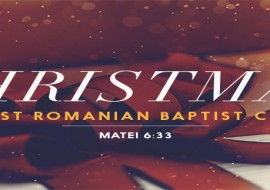 Christmas at First Romanian Baptist Church
