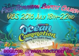 VBS 2016 Ocean Commotion July 18-22