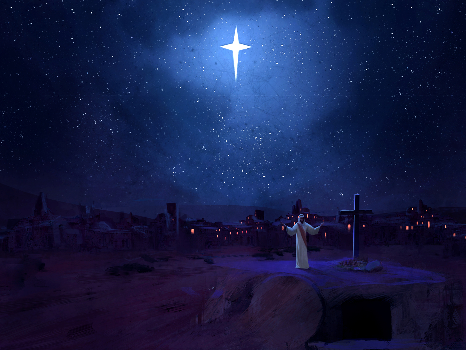 christmas worship background - photo #21