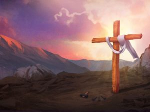 Death Has Been Defeated Easter Worship Background